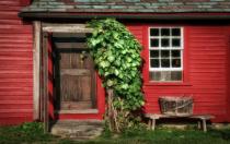 Side Door, Fruitlands Farmhouse, Harvard MA