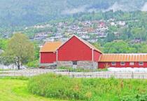 Barns in Norwegian village 2.