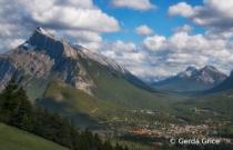 Mount Rundle, AB, Canada
