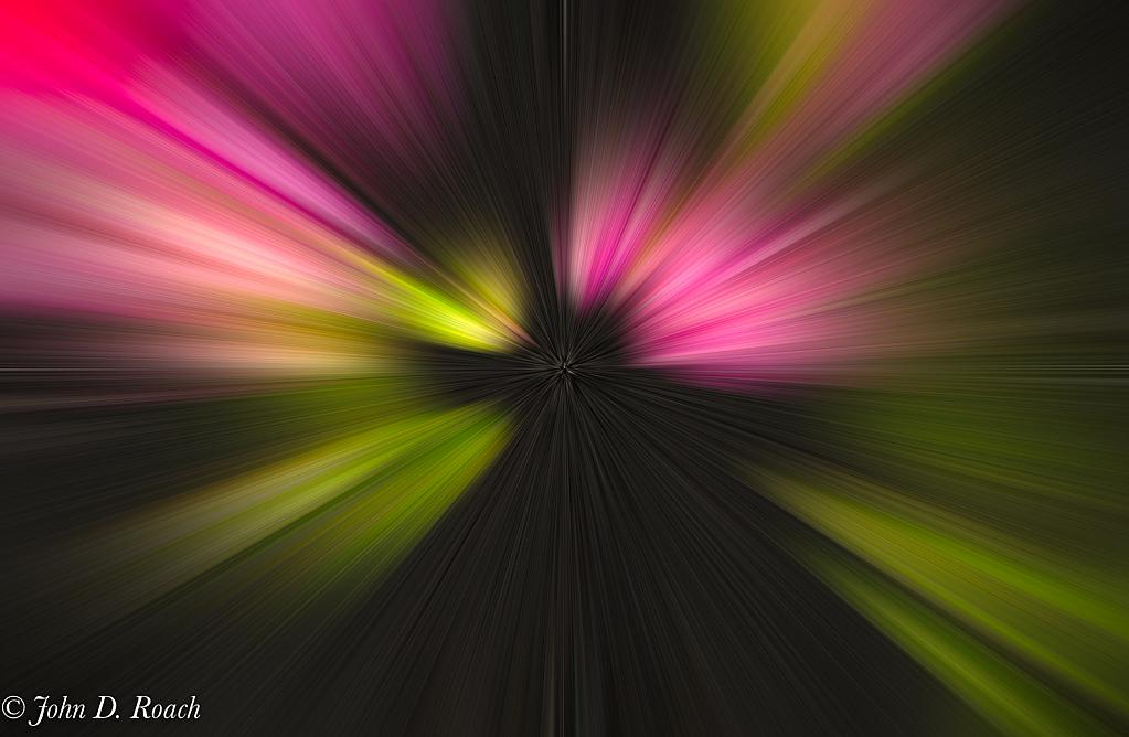Neon Vanishing Point