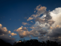 Wide Angle Clouds