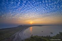 Sunrise of Gaw Yin Gyi Island