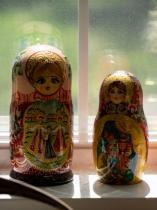 Before Photo Matryoshka Dolls