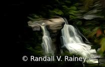 Photo painting of Blackwater Falls WV