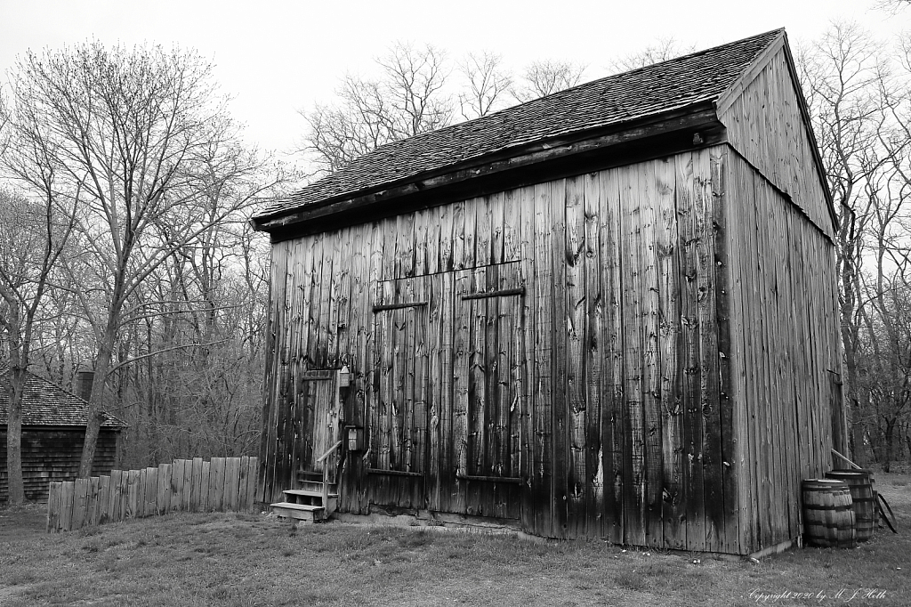 Old barn, Rebecca Nurse farm  Danvers, MA