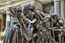 Burghers Of Calais - Detail
