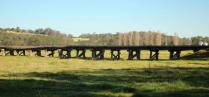 Rail Bridge over the Flood Plain at Orbost 2