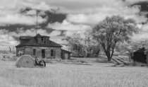 rural abandoned homestead