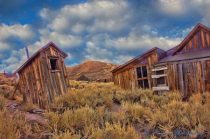 Ghost Town Outhouse