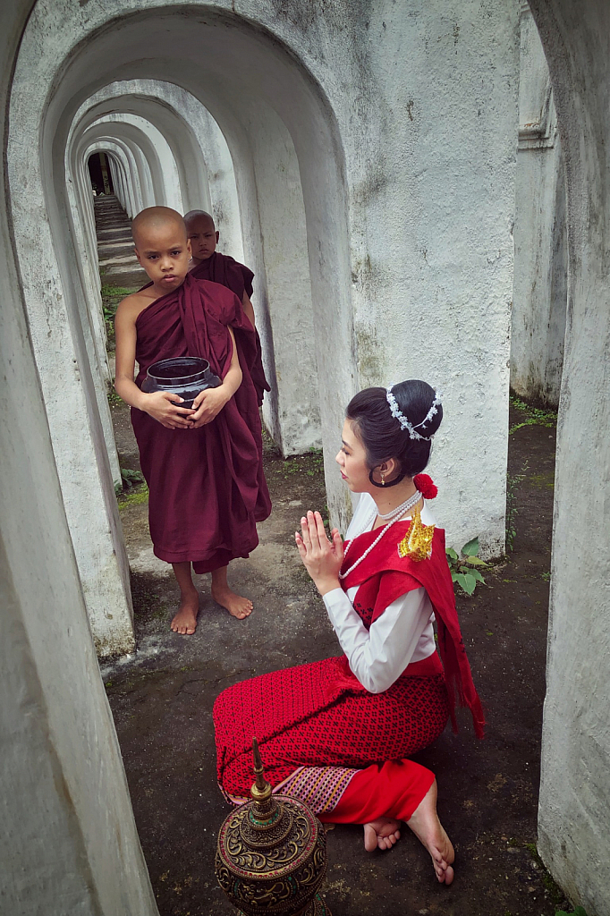Offering to novices