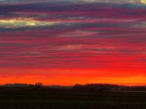 Sunrise From Ulmas Avenue