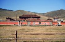Temple in the Gobi Desert