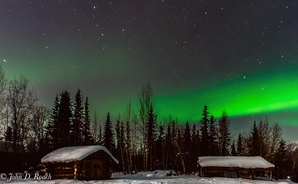 Wiseman, Alaska Aurora Borealis