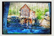 Rebuilt Old Mill in West Virginia