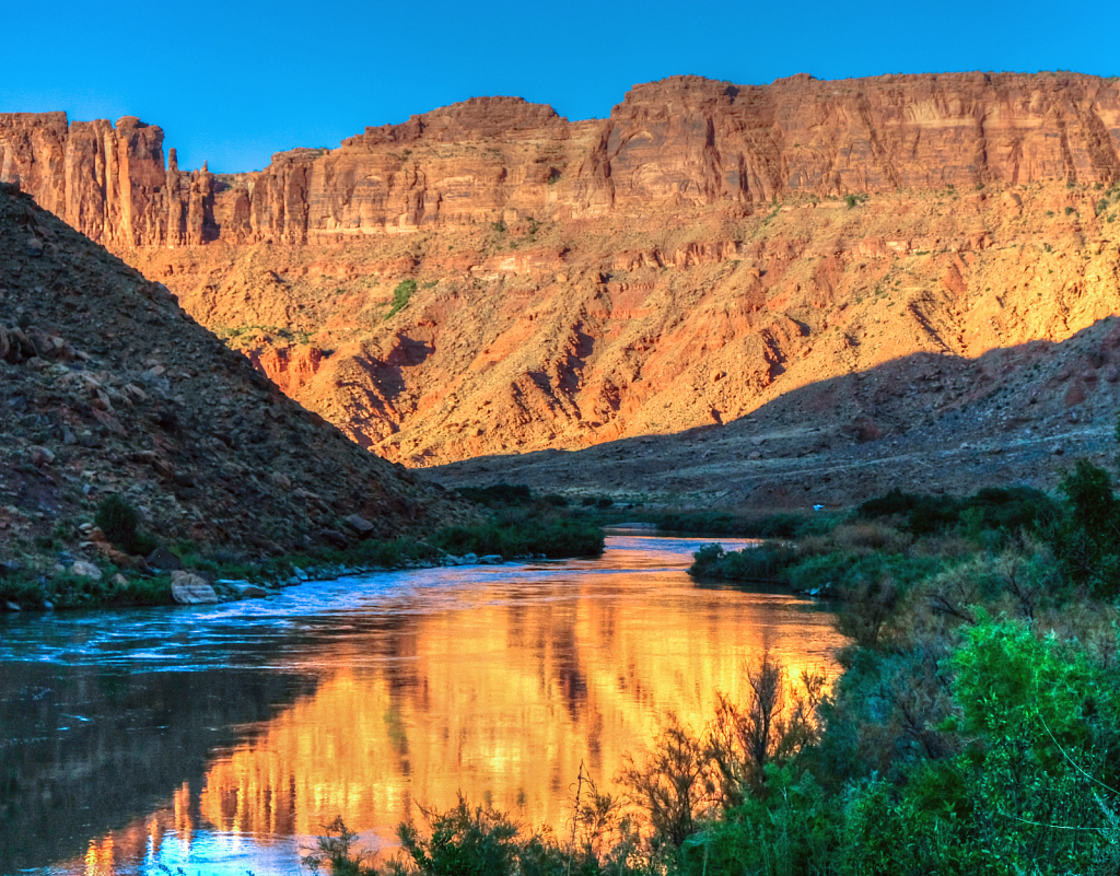 Reflecting on the Colorado River