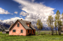 The Old House in the Tetons