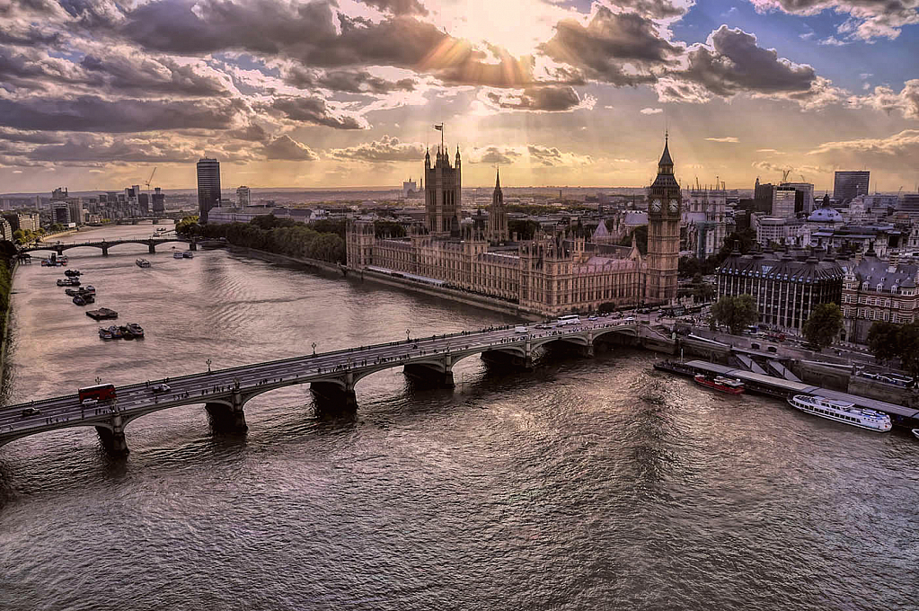 Late Afternoon On the Thames
