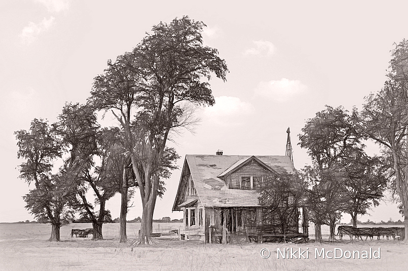 Farmhouse - Western Kansas