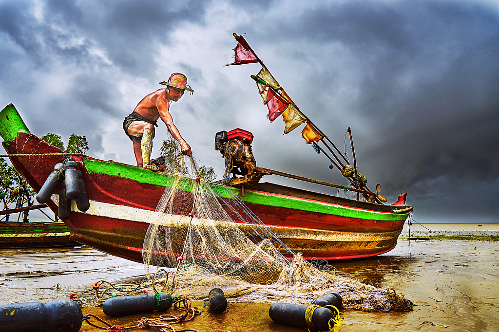 Daily Life of Fisherman