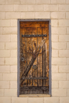 Granite Quarry Wooden Door