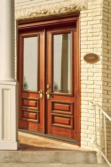 GQ Little Bank Front Door