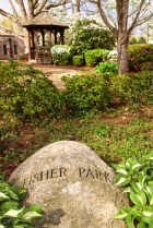 Fisher Park with Rock