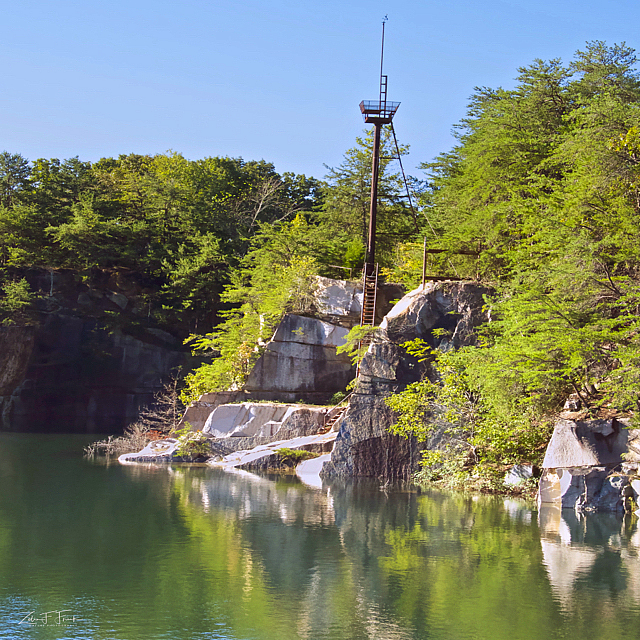 Balfour Quarry with Tower