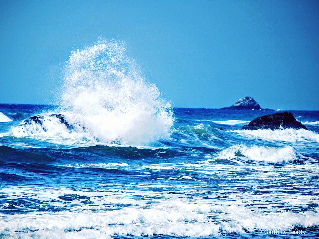 Pacific Ocean from Oregon Coast