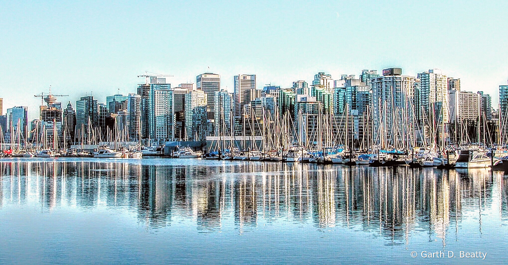 Vancouver Reflections, Strait of Georgia