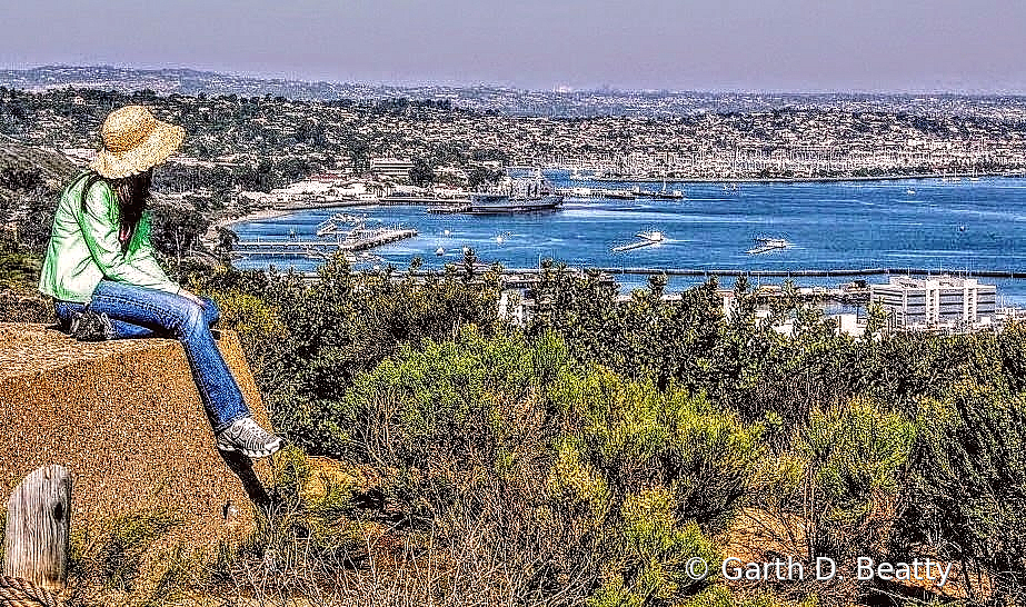 San Diego Bay from Point Loma