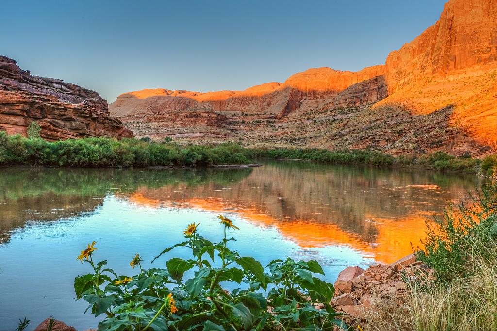 Colorado River at Arches