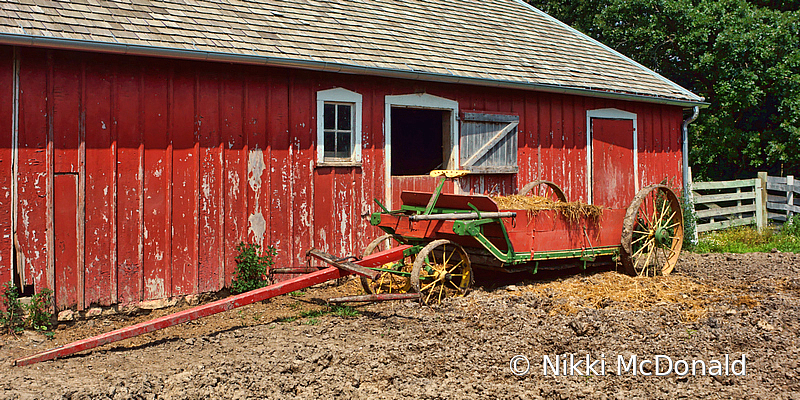 Red Stable and Wagon