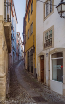 A Street in Coimbra, Portugal