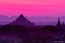 Twilight at Bagan