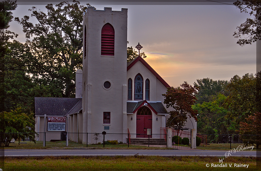 Sunset Church in Southern MD