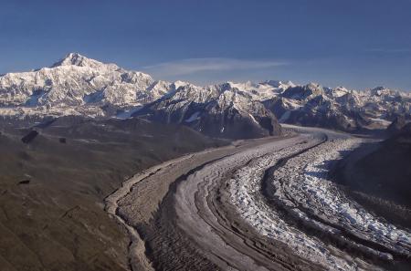 Denali and Ruth Glacier