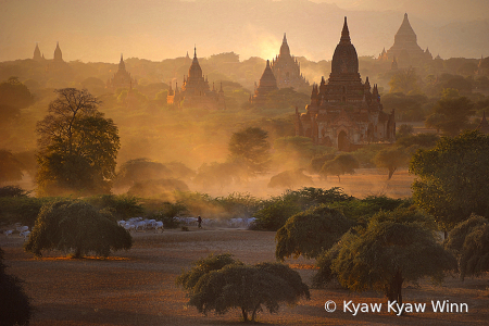 Daily View of Bagan