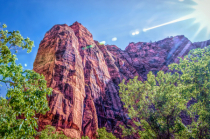 Steep Red Cliffs