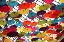 Les parapluies de Laval, Quebec