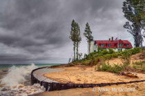Stormy Day at Point Betsie