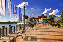 Summertime at Canalside