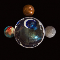 Globes In Orbit
