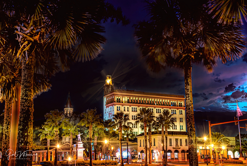 The Treasury Plaza in St. Augustine,, FL