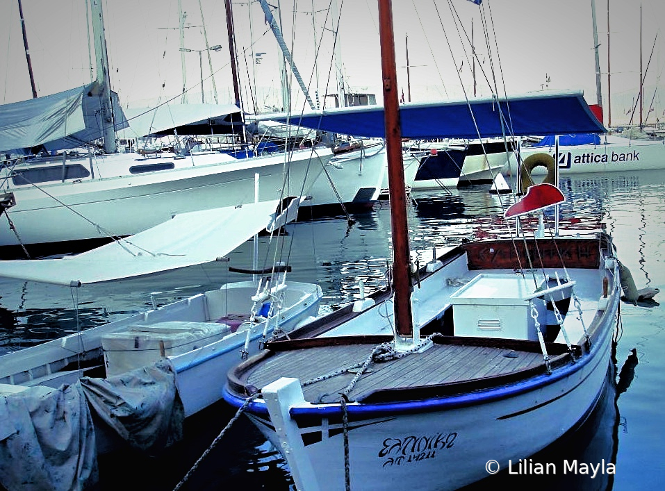 Boats in Piraeus, Greece - ID: 15834441 © Nada Mayla