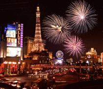 Fireworks On the Strip