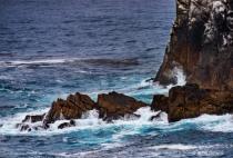 Waves and Rocks - III