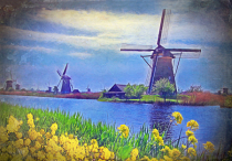 Windmills and canals