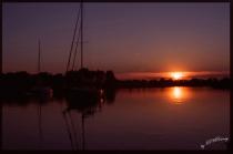 Sunset at Raft-up...