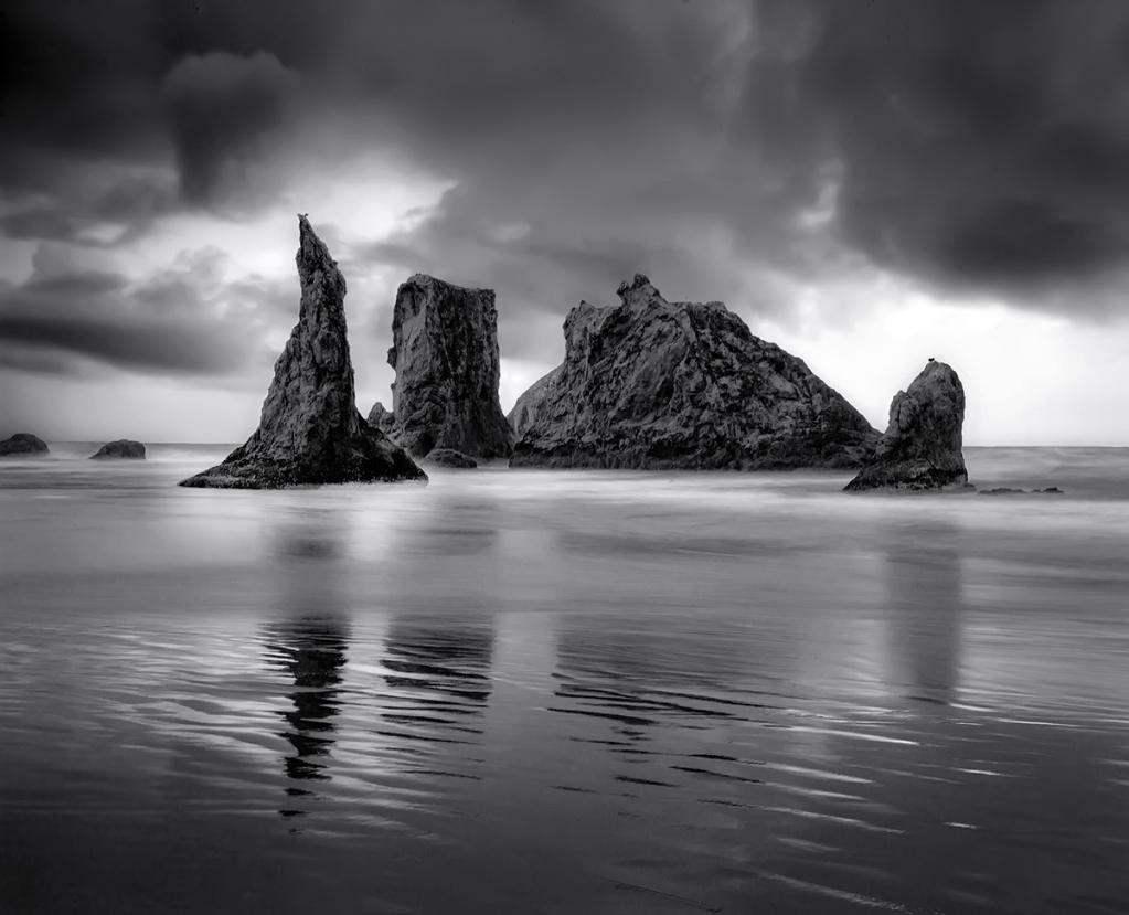 Oregon Coast at Low Tide