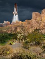 Mysterious Shuttle Launch